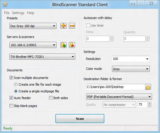 BlindScanner - 共享扫描仪丨反斗限免